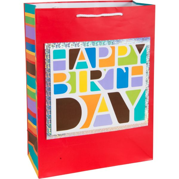3D Happy Birthday Gift Bag