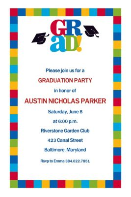 Custom Bravo Grad Graduation Invitations
