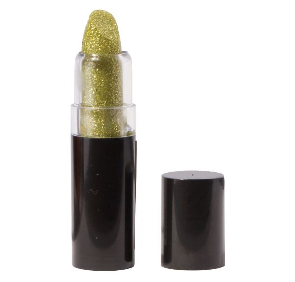 Gold Glitter Lipstick