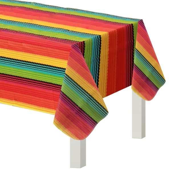 Fiesta Flannel Backed Vinyl Table Cover