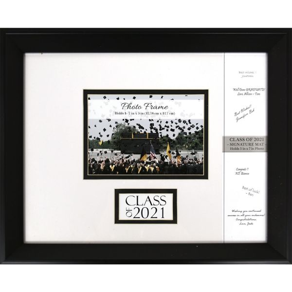 2015 autograph graduation photo frame