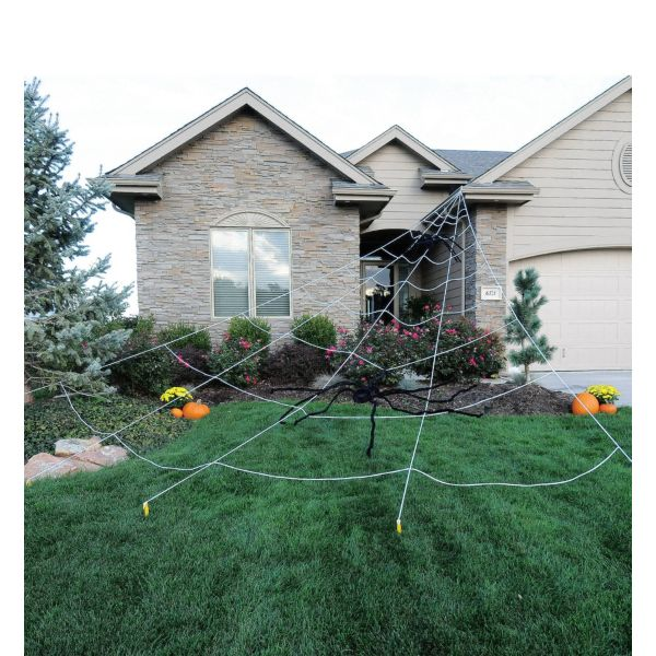 spider web yard decoration 25ft - Spider Web Decoration
