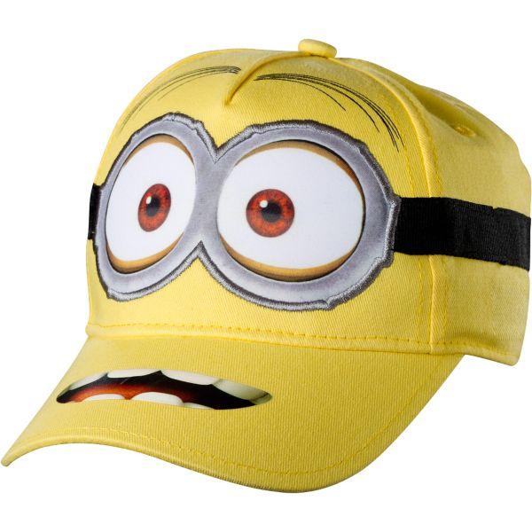 Child Despicable Me 2 Minion Dave Baseball Hat