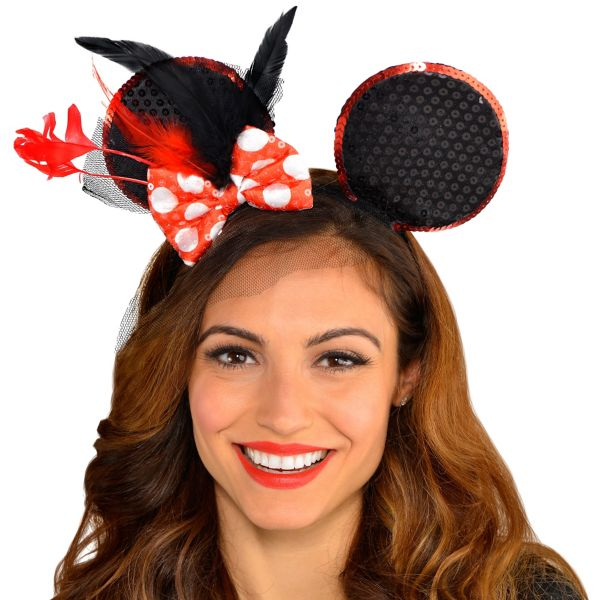 Minnie Mouse Fascinator Headband