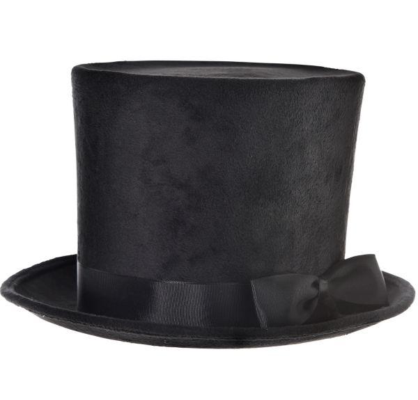 Victorian Black Top Hat Deluxe