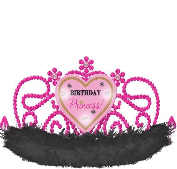 Light-Up Fabulous Birthday Princess Tiara