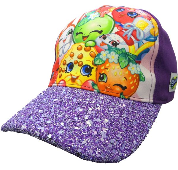 Child Glitter Shopkins Baseball Hat