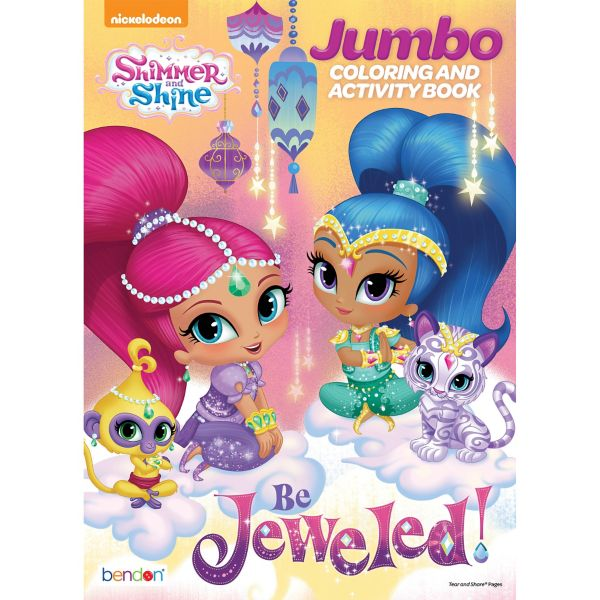 Shimmer And Shine Coloring Activity Book
