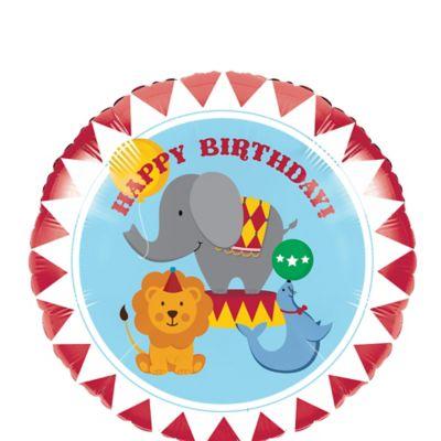 Happy Birthday Balloon - Carnival