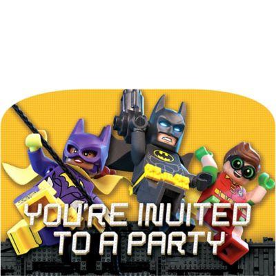 741645?wid=600&hei=600 batman movie invitations 8ct,Lego Batman Movie Invitations