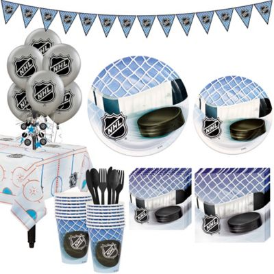 Super NHL Hockey Party Kit for 16 Guests