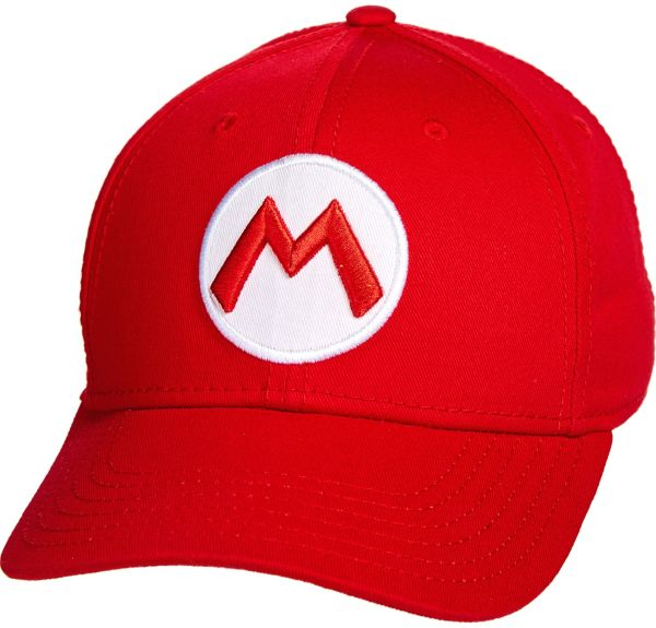 Mario Baseball Hat - Super Mario Brothers