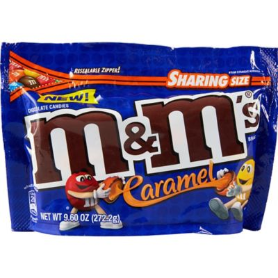 Grab your fellow caramel lovers and share some Caramel M&M's! These colorful chocolate-covered caramel candies come in a big bag with a resealable zipper & in case you want to save a little for yourself. These M&M's are perfect to take to the movies and share with the family. They are also a perfect addition to desserts like cookies and ice cream.  Caramel M&M's product details:  9.6oz package net weight Certified Kosher Contains milk and soy May contain peanuts Resealable bag  Shipping & Return Policy: Orders placed after 5pm on Thursday will not ship until Monday unless you choose Next Day Air Saturday as the ship method. We do our best to ensure chocolate arrives in good condition; however there is a possibility that the product could melt if left exposed to the sun for extended periods of time. We cannot control if the package will be delivered for example on a front porch or outside in the elements. For that reason we suggest shipping your order to an address where the recipient will be available to receive the package. Delivery to P.O. boxes or military addresses is currently not available for this item. This item is not returnable.