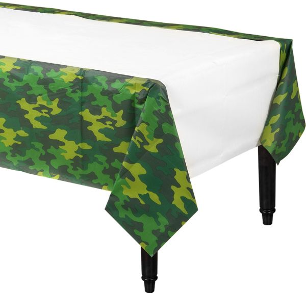 Camouflage Table Cover