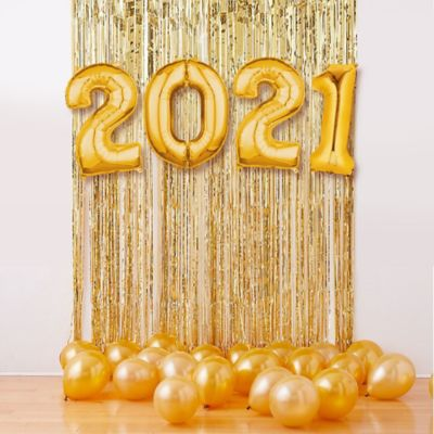 """Create the ultimate party decoration with the Air-Filled Gold 2020 Balloon Backdrop Kit! This kit includes everything you need to create a festive backdrop for a New Year's celebration or graduation party. Simply inflate balloons with air and attach them to a wall. Enjoy this helium free balloon decoration for 2-3 days. Do not use helium. p></noscript>Instructions not included with package. For instructions on how to assemble please see below. This kit includes:  2 Gold Fringe Doorway Curtain (SKU 114566) 15 Gold Pearl Balloons (SKU 632401) 2 34in Gold Number Balloon (0) (SKU 552238) 2 34in Gold Number Balloon (2) (SKU 552240)  Additional recommended supplies (sold separately):  Air pump (electric or hand-held) Double-sided tape or Scotch tape Scissors  To Assemble:  Attach fringe doorway curtain to a wall using tape. Inflate all balloons with air. (Balloon pump not included. Recommended for quick inflation.) Attach number balloons over fringe doorway curtain using tape. Scatter latex balloons on the floor around the backdrop.  Balloon Tip: Electric balloon pumps make inflation quicker; helium is not required.""""/> <a target='_blank' class='price' href=https://www.kqzyfj.com/click-7308179-13649072-1581094696414?url=https%3A%2F%2Fwww.partycity.com%2Fair-filled-gold-2020-balloon-backdrop-kit-783891.html%3Fextcmp%3Dpla%7CGoogle&cjsku=783891>59.99</a></div> <div class=thumbcoupon><a target='_blank' href=https://www.tkqlhce.com/click-7308179-13649072-1581094696415?url=https%3A%2F%2Fwww.partycity.com%2Fair-filled-blue-2020-balloon-backdrop-kit-783892.html%3Fextcmp%3Dpla%7CGoogle&cjsku=783892>Air-Filled Blue 2020 Balloon Backdrop Kit</a> from <a target='_blank' href=https://www.tkqlhce.com/click-7308179-13649072-1581094696415?url=https%3A%2F%2Fwww.partycity.com%2Fair-filled-blue-2020-balloon-backdrop-kit-783892.html%3Fextcmp%3Dpla%7CGoogle&cjsku=783892>Party City</a><br /><img src="""