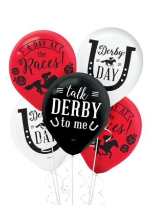 Kentucky Derby Balloons 15ct