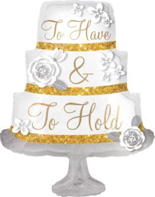 Giant Wedding Cake Balloon