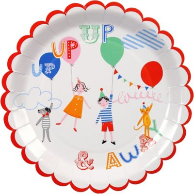 Circus Kids Lunch Plates 12ct