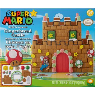 Super Mario Gingerbread Castle Kit