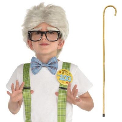 100 Days of School Grandpa Costume Accessories