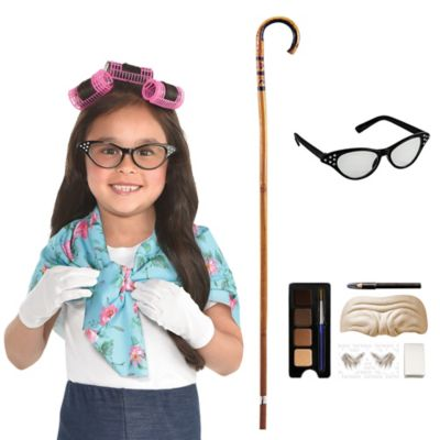 100 Days of School Grandma Costume Accessories