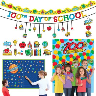 100 Days of School Classroom Decoration & Activity Supplies