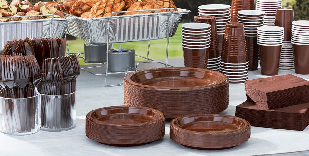 Chocolate Borwn Tableware