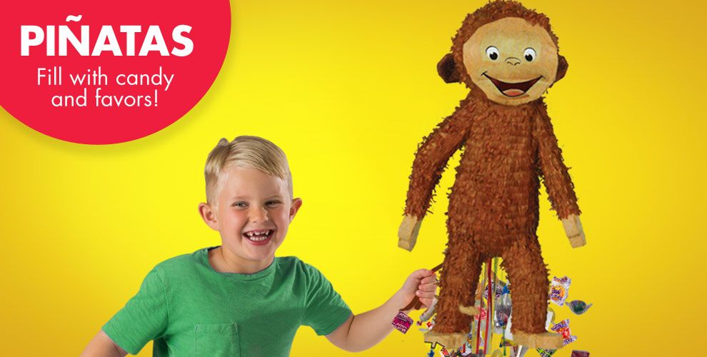 Curious George Pinatas