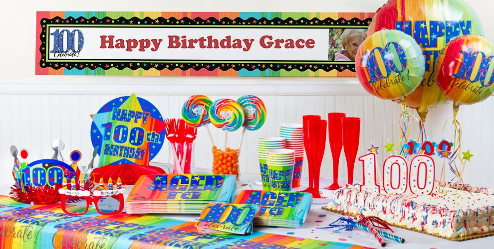 Aged To Perfection 100 Birthday Party Supplies