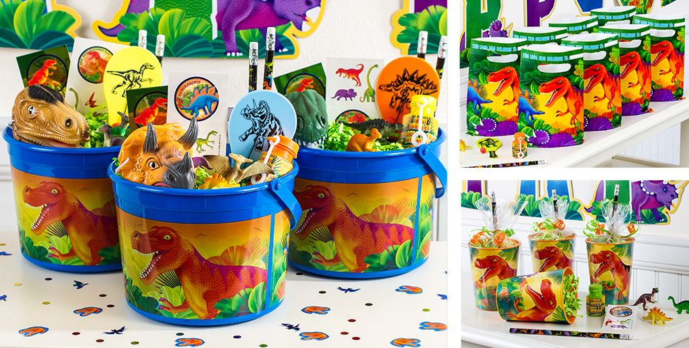 Prehistoric Dinosaur Party Favors