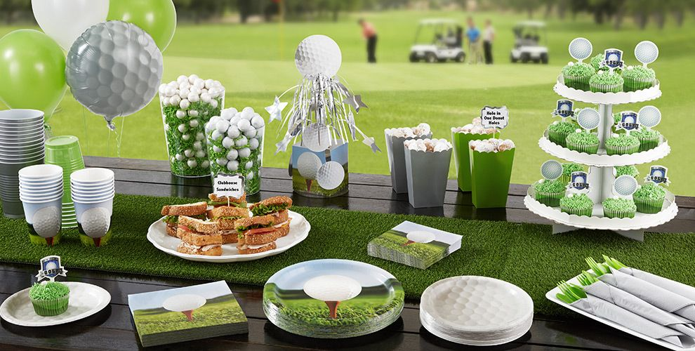 ... Golf Party Supplies. Golf party supplies include golf-themed plates