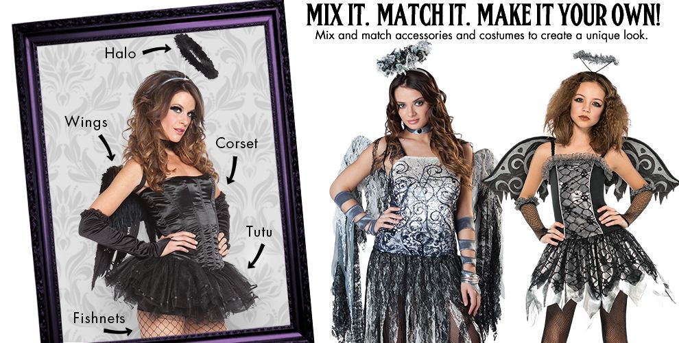 Dark Angel Womens Mix & Match #1