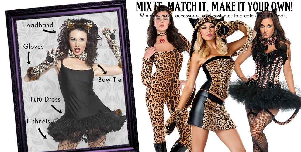 Pretty Kitty Womens Mix & Match #1