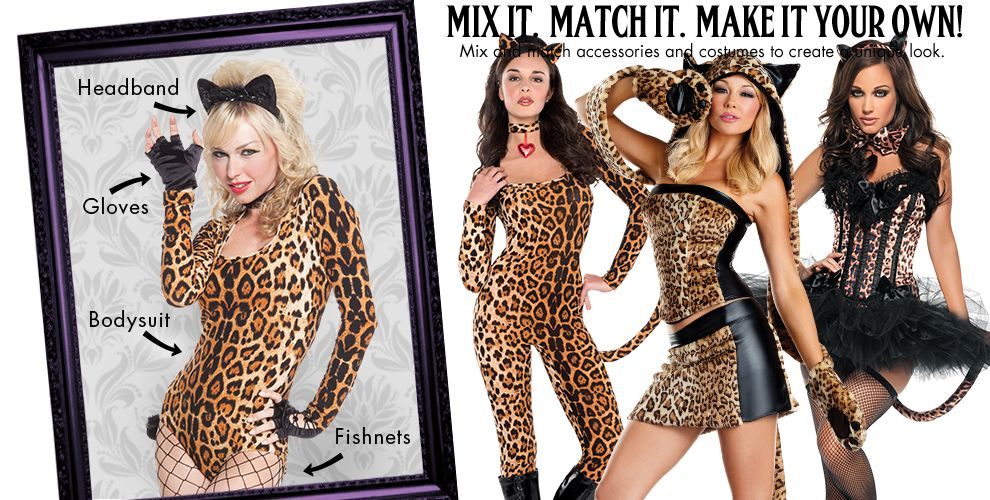 Luscious Leopard Womens Mix & Match #1