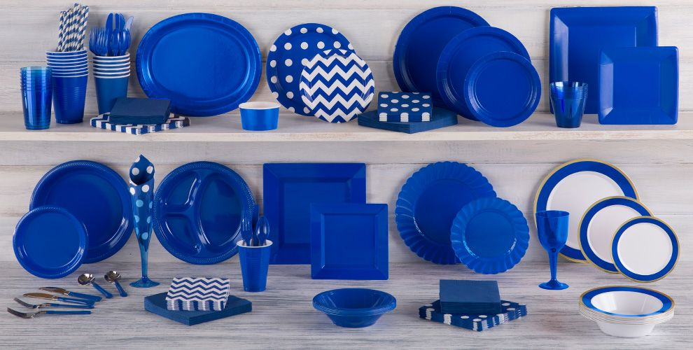 Royal Blue Tableware