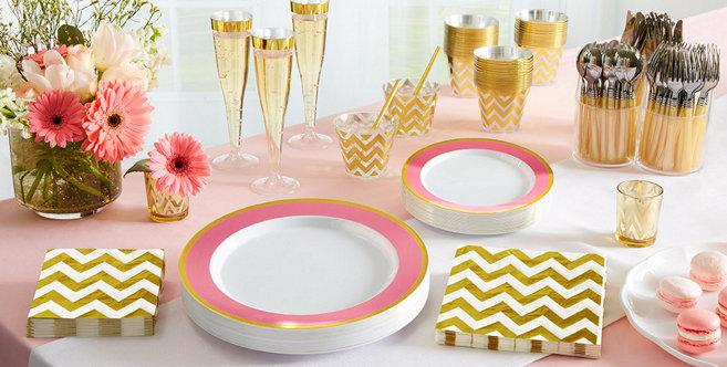 Solid Pink Tableware #1