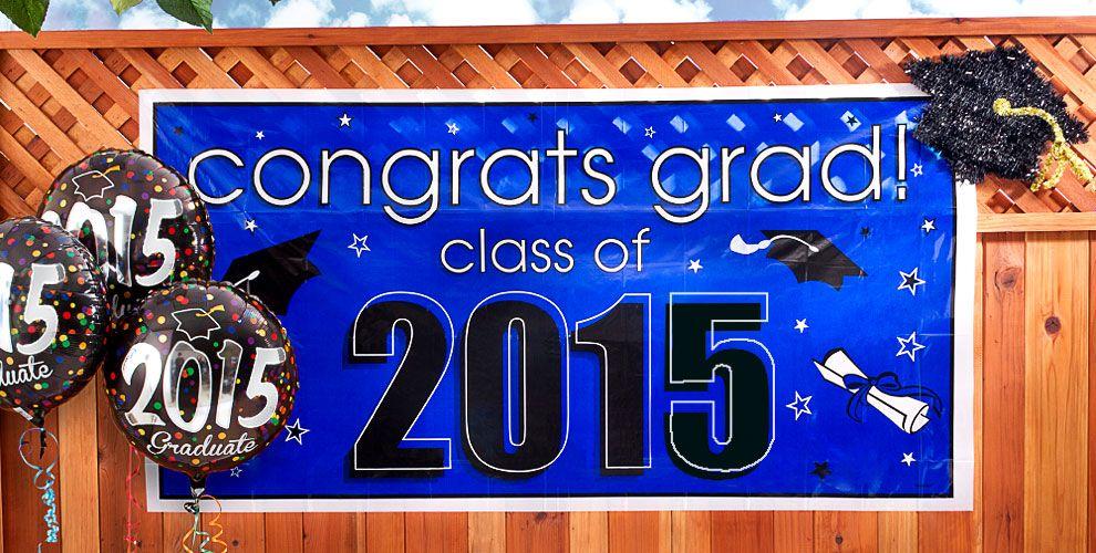 Class of 2015 Graduation Decorations