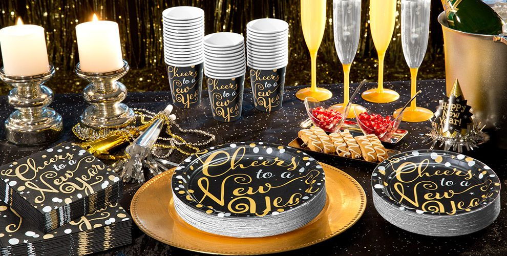 Bubbly Celebration Cheers to a New Year Tableware   #1