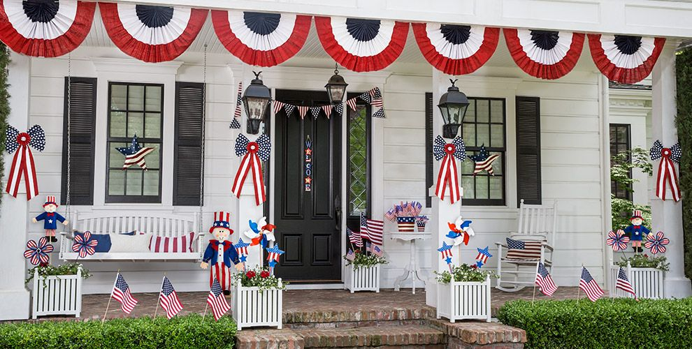 4th of july decorations decor party city for 4th of july decorating ideas for outside