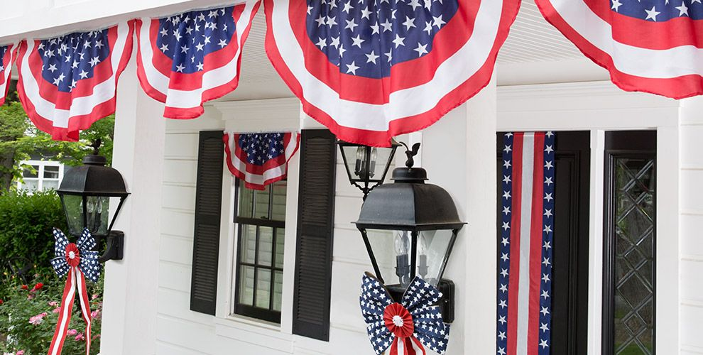 Patriotic decorations indoor outdoor patriotic decor for 4th of july party decoration