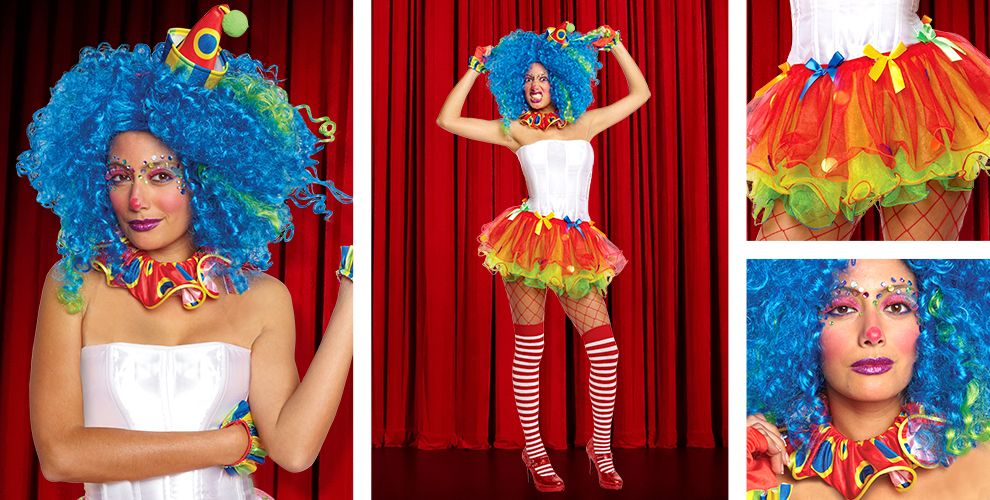 Sassy Clown Womens Mix & Match #2