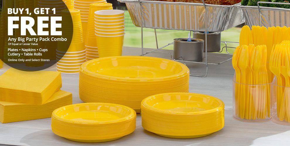 Big Party Pack Tableware