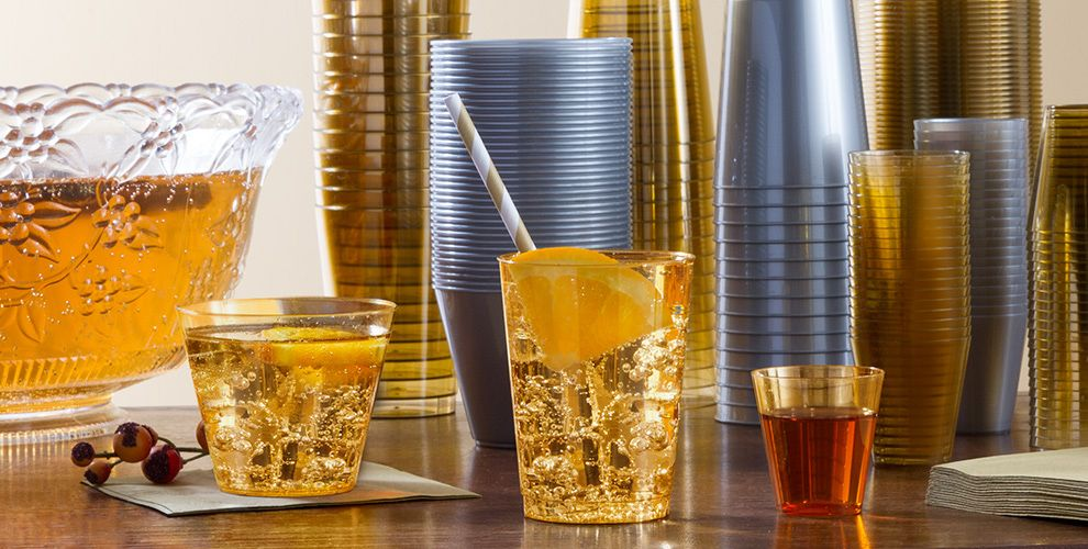 Plastic Cups & Stemware #1