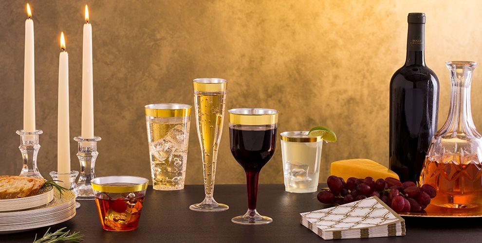 Plastic Cups & Stemware