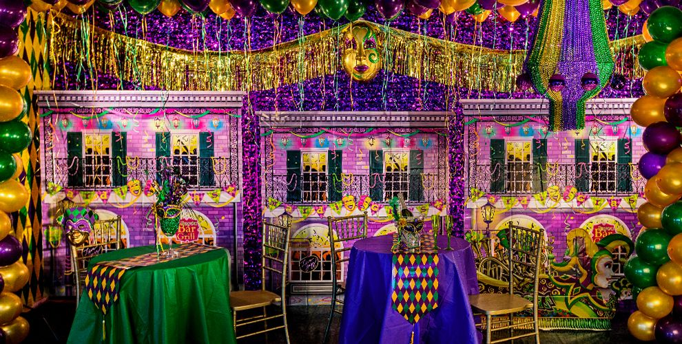 Mardi Gras Decorations #1