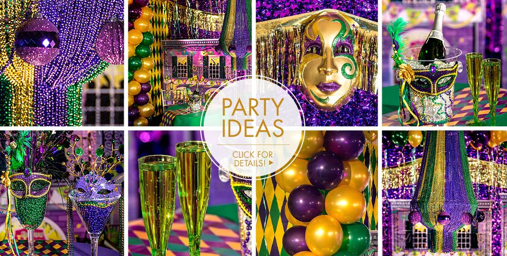 Mardi Gras – Party Ideas