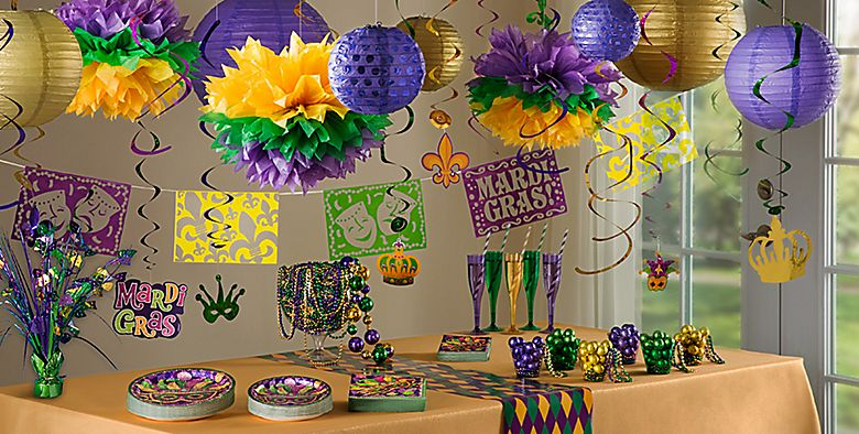 Mardi Gras Party Decorations