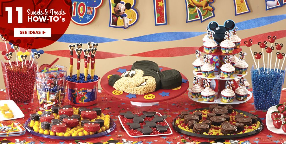 Mickey Mouse Party Supplies #4