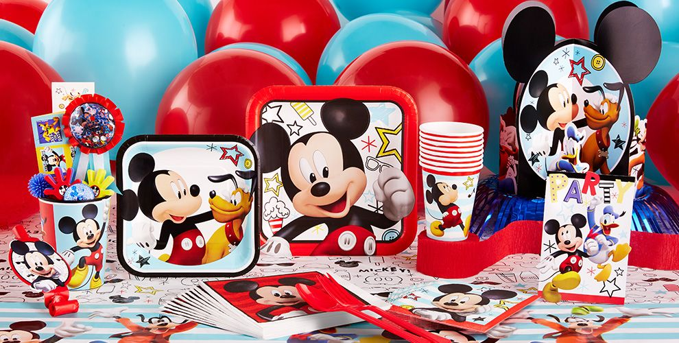 Mickey Mouse Party Supplies #1