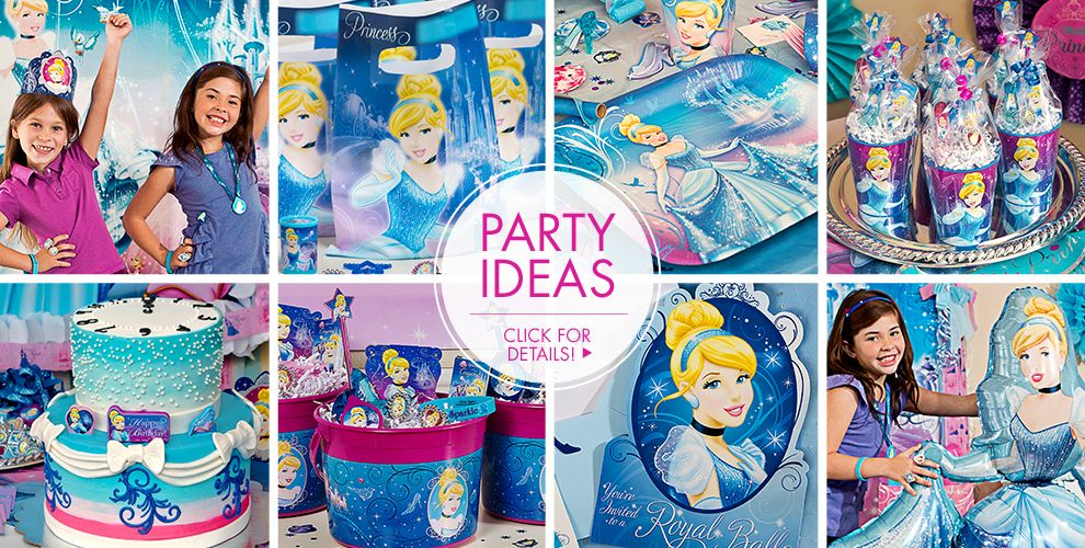 Cinderella Party Supplies – Party Ideas